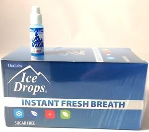 Oralabs Ice Drops Instant Fresh Breath Winter Mint Whole Box of 50