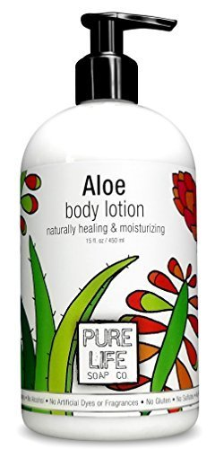Pure Life Soap Aloe Body Lotion 15 Fluid Ounce by purelife
