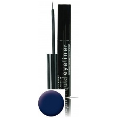 LA Colors Smudge Proof Liquid Eyeliner Navy Blue 025 FL OZ Bottle
