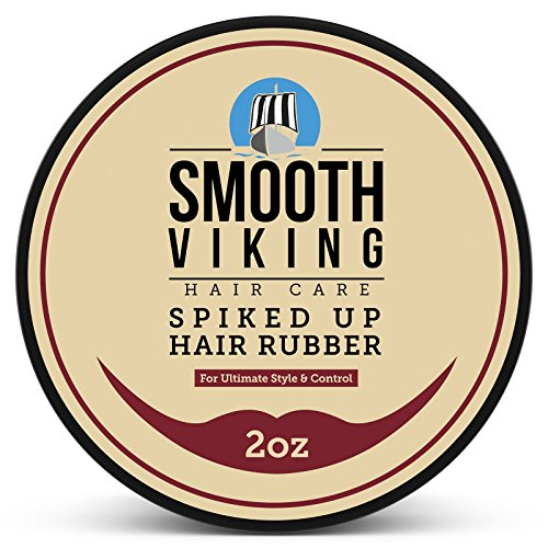Hair Wax For Men - Spiked Up Rubber - Best Styling Formula