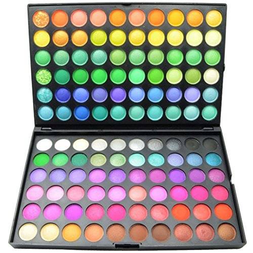 FASH Cosmetics Professional Bold Bright and Vivid 120 Color Eyeshadow Palette