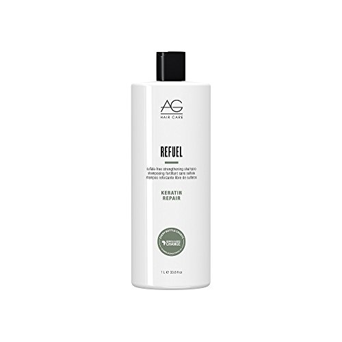 AG Hair Refuel Sulfate Free Strengthening Shampoo 3380 Ounce