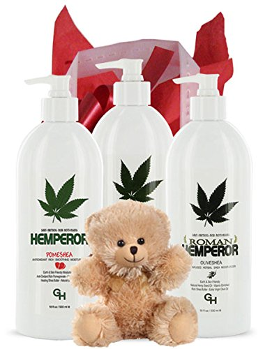 Hemperor Bear Hemp Moisturizer Gift Bag