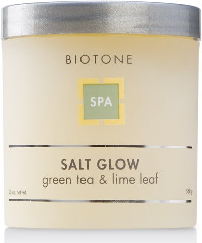 Biotone Green Tea & Lime Leaf Salt Glow - 20 Oz