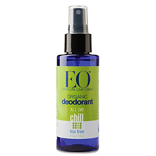 Organic Deodorant Spray Tea Tree EO 4 oz Spray