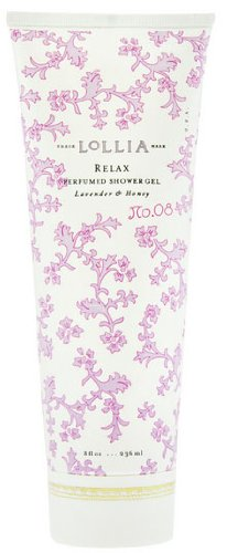 LoLLIA RELAX No 08 Perfumed Shower Gel Lavender Honey 8 fl oz236 ml