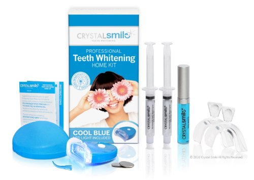 Crystal Smile Advanced Deluxe Teeth Whitening Home Kit