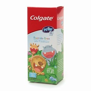 Colgate Kids My First Toddler Fluoride Free Toothpaste Mild Fruit 175 oz