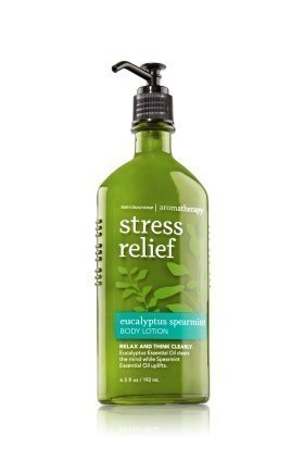 Aromatherapy Stress Relief Eucalyptus Spearmint Body Lotion 65 fl oz by Bath Body Works Beauty