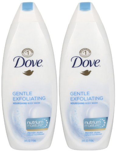 Dove Gentle Exfoliating Nourishing Body Wash 200ml