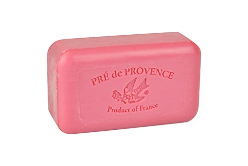 Pre de Provence Shea Butter Enriched Handmade French Soap Bar 150g - Raspberry