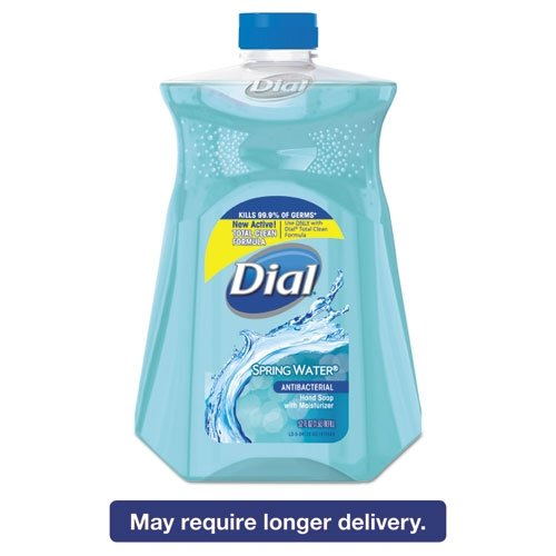 Dial Antibacterial Hand Soap with Moisturizer Spring Water Scent 52oz