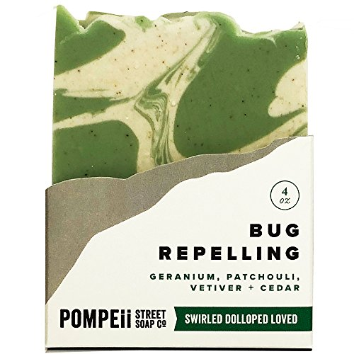BUG REPELLING SOAP Natural Artisan Crafted with Organic and Natural Oils 4 oz