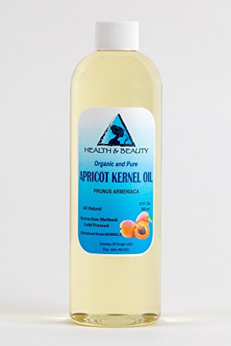 Apricot Kernel Oil Organic Carrier Cold Pressed 100 Pure 24 oz