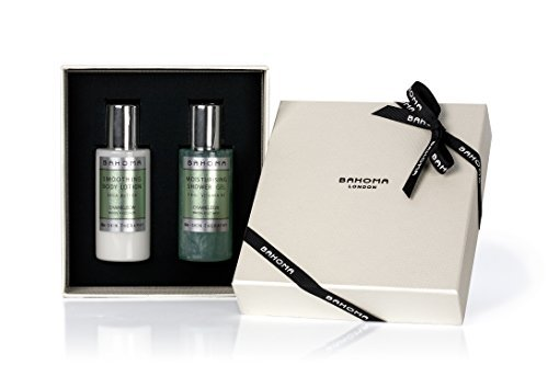 Bahoma Chameleon Luxurious Gift Box with 75 ml Travel Size Shower Gel Body Lotion