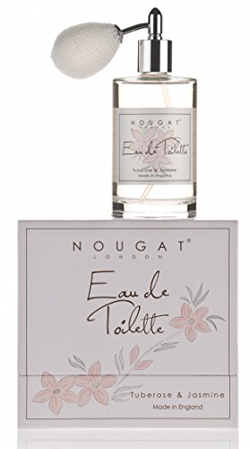 Nougat London Tuberose Jasmine Perfume EDT Eau de Toilette 100ml With Atomiser