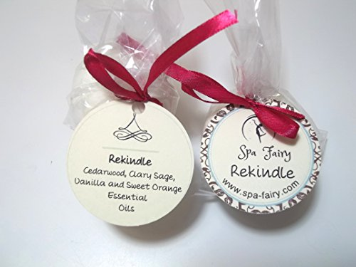 Rekindle - Cedarwood Clary Sage Vanilla Sweet Orange Essential Oils Bath Bomb Weekend Pack Two Large All Natural Bath Bombs with Organic Essential Oils Shea Butter and Cocoa Butter Enjoy a Moisturizing Lush Aromatherapy Bath Refill Your Set of Spa