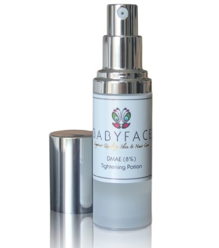Babyface Instant Tightening Serum - Extra Strength 8 DMAE for Maximim Tightening and Pore Refining Lifts Smoothes Resurfaces Dull Skin