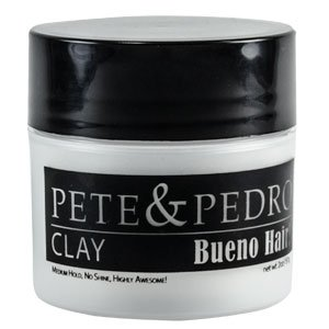 Pete and Pedro Clay - Matte Finish Medium Hold Hair Clay for Men