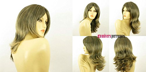 univers perruque Mid Length Wig For Women Wick Golden Brown Ref Soanne 1bt24b