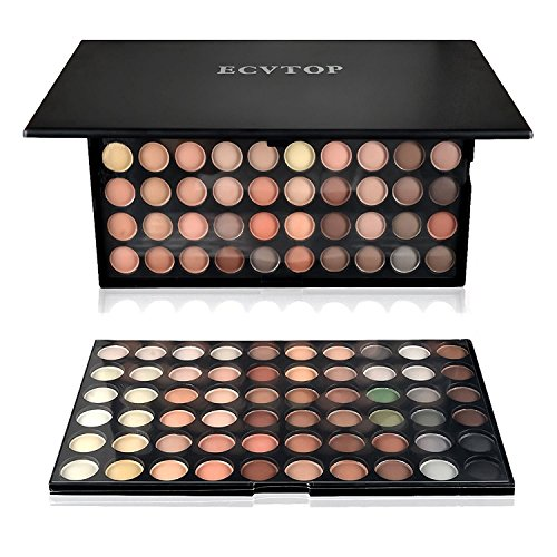 Ecvtop 120 Neutral and Warm Color Eye-shadow Palette Make up Cosmetics Mineral Eyeshadow Set for Women Color-4