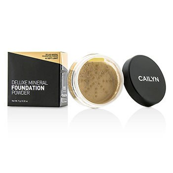 Cailyn Cosmetics Deluxe Mineral Foundation Powder Soft Light 03 Ounce