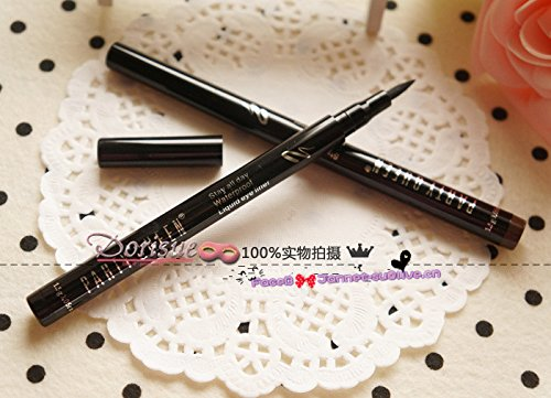 Dorisue Stay All Day super waterproof long lasting eyeliner Black brown liquid Cosmestic Brown