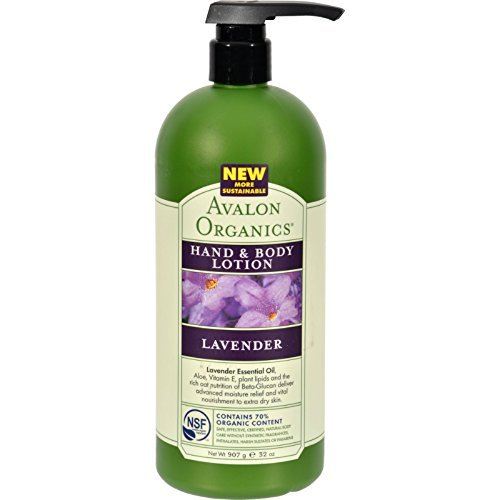 Avalon Organics Lavender Hand And Body Lotion - (1 X