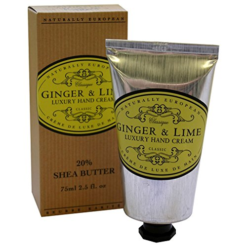 Naturally European Ginger Lime Luxury Hand Cream 75ml PACK OF 6