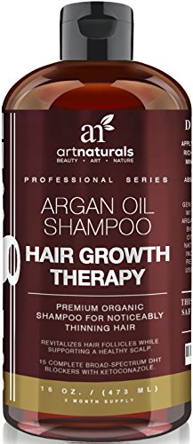 Art Naturals Organic Argan Oil Hair Loss Shampoo For