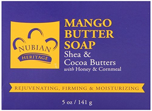 Body Butter Soap With Mango Shea and Cocoa Butters 5oz by Nubian Heritage