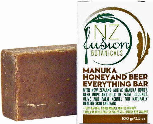 Manuka Honey Shampoo and Soap Bar