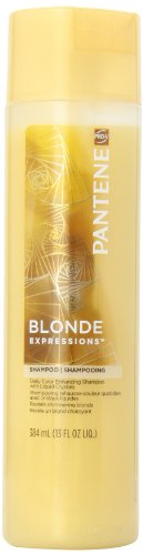 Pantene Pro-V Blonde Expressions Daily Color Enhancing Shampoo With Liquid Crystals 13 Oz Pack of 3