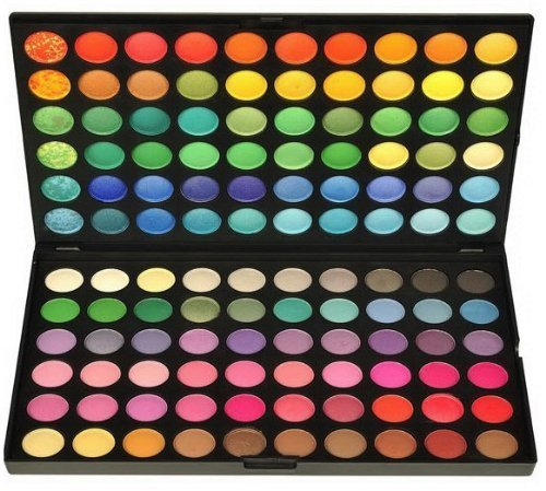 Boboshop&reg Eye Shadow Palette Makeup Kit 120 Colour Makeup