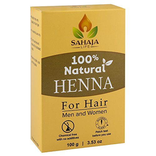 Pure Henna Hair Dye Powder 35 Oz  All Natural High Pigment Color for Hair Root Touch Up Beard Eyebrows on Men Women  Includes Bonus Prep Methods Guide