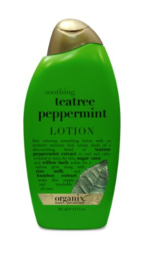 OGX Calming Body Lotion Soothing TeaTree Peppermint  13oz