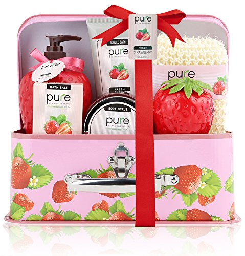 Pure! Spa In A Basket. Deluxe Gift Set For Women (fresh