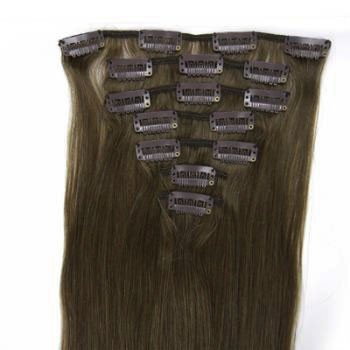 DREAMWEAVER Clip-In 100 Human Hair Extentions 2