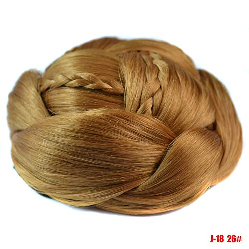 Small Hair Pieces Exquisite Braided Chignon Multi Tiered Braids Synthetic Bun Pad The Most Stunning Prom Updos Natural Hairpiece26