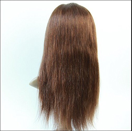 Best-Selling Full Lace Human Hair Wig Peruvian Virgin Remy Human Hair Natural Straight Color 4trademarkDaJun