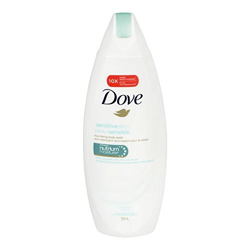 Dove Sensitive Skin Body Wash 12 OZ - Buy Packs and SAVE Pack of 3