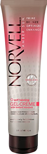 Norvell Self Tanning GEL-CREME with Instant Bronzers 5 fl oz 6-pack