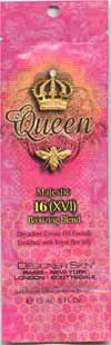5 Lot Designer Skin Queen Majestic 16 XVI Bronzing Blend Decadent Cream Oil Tanning Lotion Sample Packets Packettes