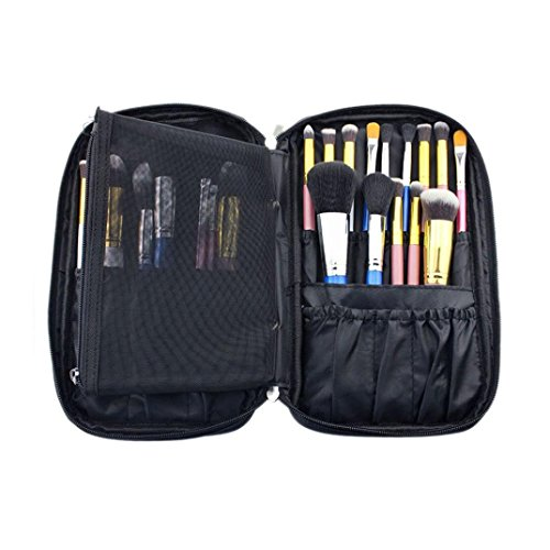 Sankuwen Professional Brush Brush Tool Bags Cosmetic Boxes Portable Zipper Bagbrush is not included