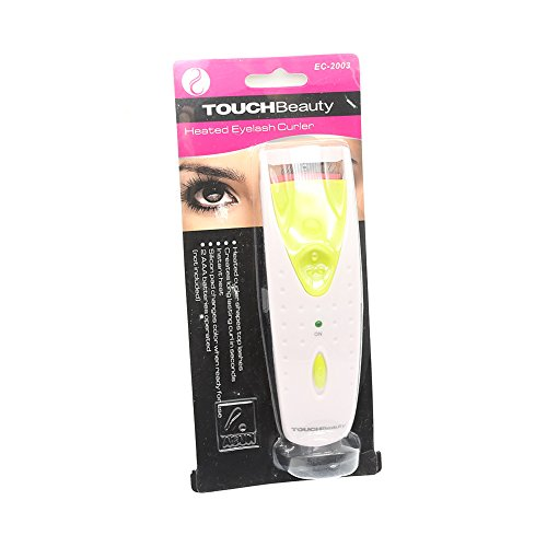 So Beauty Long Lasting Electric Heated Eyelash Eye Lashes CurlerWhite and Green
