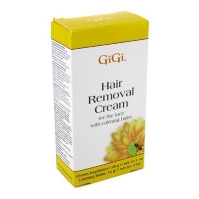 Gigi Hair Removal Cream For Face With Calming Balm 3 Pack