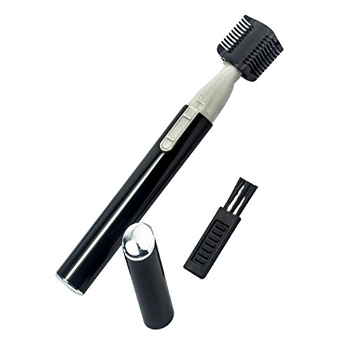 inkint Electric Eyebrow Shaper Eyebrow Trimmer Electric Facial Hair Remover Bikini Shaper Body Hair Remover for Neck Armpit Leg Personal Trimmer for Men Women