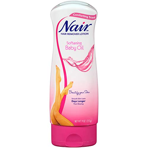Nair Hair Baby Oil Hair Removal Lotion 90 oz Pack of 3