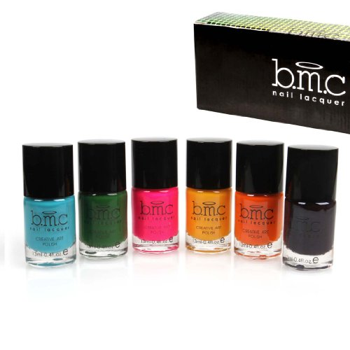 Bmc Nail Stamping Lacquers - Creative Art Polish Collection