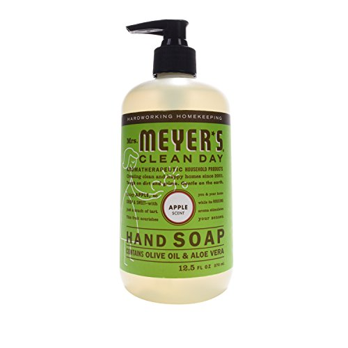 Mrs. Meyer's Clean Day Liquid Hand Soap, Apple, 12.5